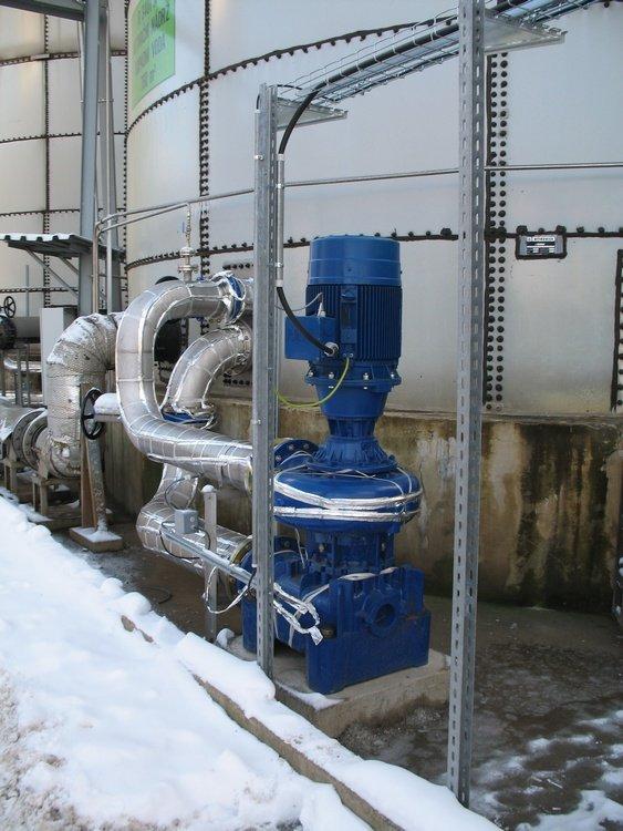Циркуляционный насос биореактора<br />«Сполхемие»